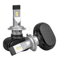 Светодиодные лампы для фар H7 LED CSP N2 5000K комплект - 2 шт