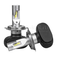 Светодиодные лампы для фар H4 LED CSP N2 5000K комплект - 2 шт