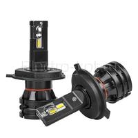 Диодные лампы головного света M2 H4 4хCR-LED с кулером 25W 9-32V 5000K комплект - 2 шт