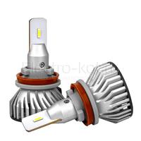 Светодиодные лампы головного света Ninja Turbine 5000K H16 (JP) комплект - 2 шт