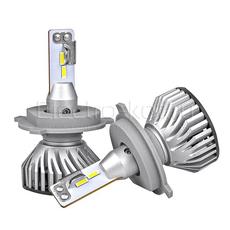 Светодиодные лампы головного света Ninja Turbine 5000K H4 комплект - 2 шт