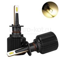 Светодиодные лампы головного света Razor 6 CSP галоген 3000K H1 2 шт