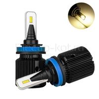 Светодиодные лампы головного света Razor 6 CSP галоген 3000K H9 2 шт