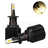 Светодиодные лампы головного света Razor 6 CSP галоген 3000K H3 2 шт