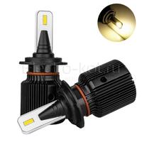 Светодиодные лампы головного света Razor 6 CSP галоген 3000K H7 2 шт