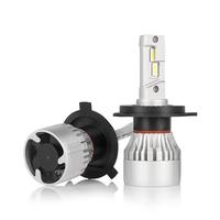 Светодиодные лед лампы головного света ElectroKot X10 H4 2 шт