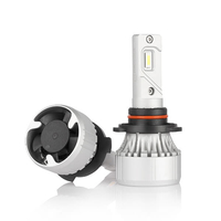 Светодиодные лед лампы головного света ElectroKot X10 HB4 2 шт