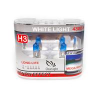 Галогеновые лампы Clearlight Whitelight H3