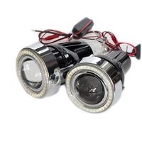 ПТФ 80мм с LED ангельскими глазками