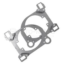 Переходные рамки Mazda 6 2009-2011 под линзу BI-LED DIXEL GTR 3.0
