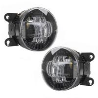 Фары противотуманные светодиодные MTF Light FL10W линза 5000K 12В 10Вт универсальные 2 шт