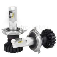 Светодиодные лампы Smart System Ultra Control с цоколем H4 комплект - 2 шт