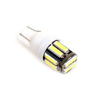 Светодиодная лампа 10 SMD 7020 T10 - W5W