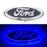 4D логотип Ford (Форд) 150 х 60 мм синий