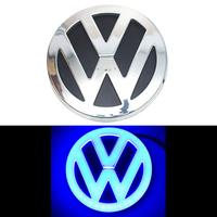 4D логотип Volkswagen (Фольксваген) 110 мм синий