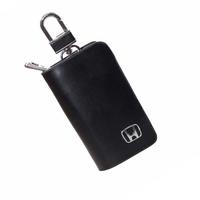 Ключница кожаная с логотипом Honda (Хонда)