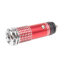 Ионизатор воздуха автомобильный в прикуриватель красный