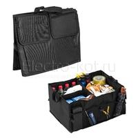 Органайзер в багажник для инструментов черный
