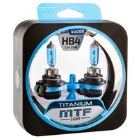 Галогеновые лампы MTF Titanium 4400К HB4 2 шт