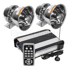 СГУ с радио манипулятором Federal Signal AS-T9 MP3 600W Chrome