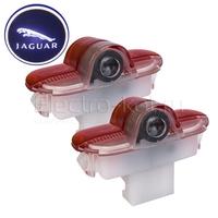 Штатная подсветка дверей с логотипом Jaguar - Ягуар - 2 шт