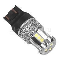 Светодиодная лампа автомобильная SilverLight 15 SMD3030 7443 - W21/5W - T20