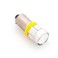 Светодиодная лампа 6 SMD 5730 1155 - T4W - BA9S желтая