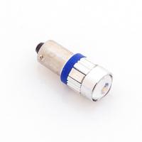 Светодиодная лампа 6 SMD 5730 1155 - T4W - BA9S синяя