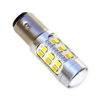 Двухцветная светодиодная лампа SMD2835 1157 - P21/5W - BA15D