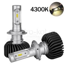 LED лампы головного освещения для авто Appolo 2.0 CSP 4300K H7 комплект 2 шт