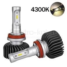LED лампы головного освещения для авто Appolo 2.0 CSP 4300K H16 (JP) комплект 2 шт