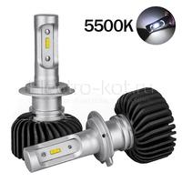LED лампы головного освещения для авто Appolo 2.0 CSP 5500K H7 комплект 2 шт