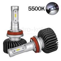 LED лампы головного освещения для авто Appolo 2.0 CSP 5500K H9 комплект 2 шт