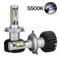 LED лампы головного освещения для авто Appolo 2.0 CSP 5500K H4 комплект 2 шт