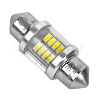Светодиодная лампа 8 SMD3014 для подсветки номера и салона C5W 31мм