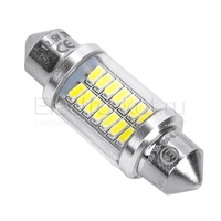 Светодиодная лампа 14 SMD3014 для подсветки номера и салона C5W 36мм