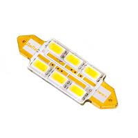 Российская светодиодная лампа Дилас C5W 36мм LG SMD5630 6 LED