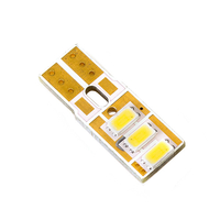 Российская светодиодная лампа Дилас Flat T10 - W5W LG SMD5630 3 LED