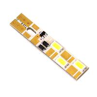 Российская светодиодная лампа Дилас T10 - W5W LG SMD5630 6 LED с обманкой