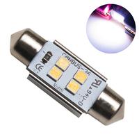 Светодиодная лампа с обманкой 4 SMD3030 C5W 36mm 6000K 12-24V