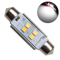Светодиодная лампа с обманкой 4 SMD3030 C10W 41mm 5000K 12-24V