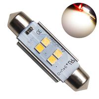 Светодиодная лампа с обманкой 4 SMD3030 C10W 41mm 4300K 12-24V