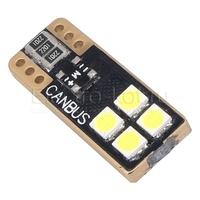 Односторонняя LED лампа SuperCanbus Epistar T10 W5W 4 SMD 3030 12-24V 5Вт