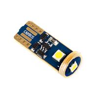 Светодиодная лампа Golden Phillips Luxeon T10 W5W 3 SMD 3030 12-24V обманка CANBUS