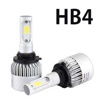 Светодиодные лампы HB4 Headlight Bridgelux COB S2 комплект - 2 шт