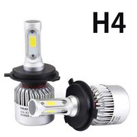 Светодиодные лампы H4 Headlight Bridgelux COB S2 комплект - 2 шт