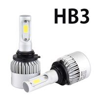 Светодиодные лампы HB3 Headlight Bridgelux COB S2 комплект - 2 шт