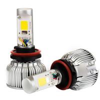 Светодиодные лампы в ПТФ COB c RGB модулем Bluetooth H11 - комплект 2 шт