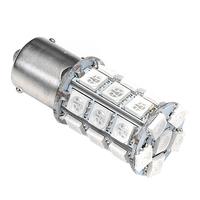 Светодиодная лампа CORN LED 27 SMD5050 1156 - PR21W - BA15S красная