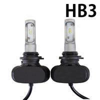 Светодиодные лампы HB3 CSP N1 LED 6000K комплект - 2 шт